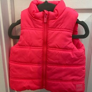 Toddler Girl Gap Vest **Like New** 12-18 Months
